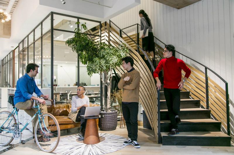 オープンスペースなオフィスイメージ