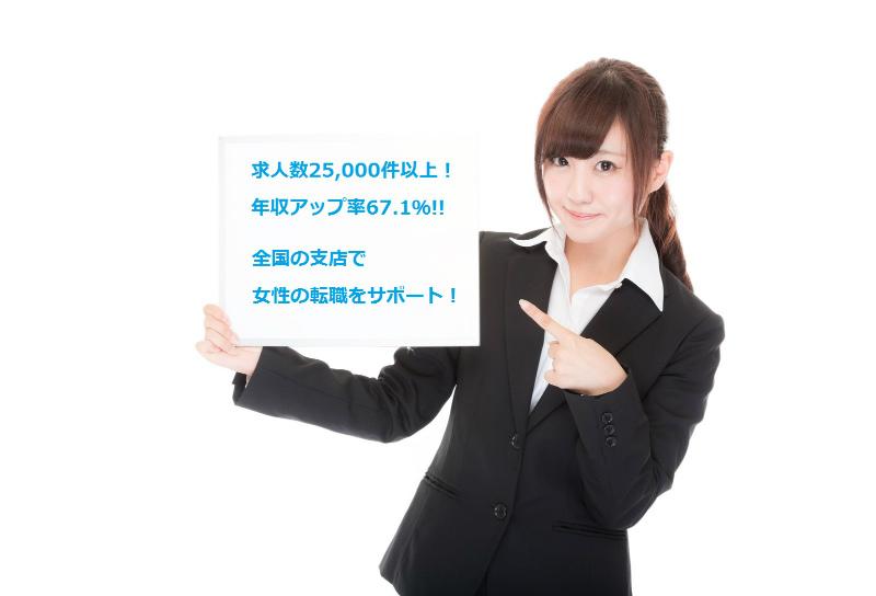 パソナキャリアは女性の転職に強い!【★★★】