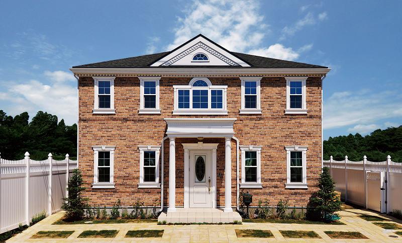 50年後や100年後でもデザインが通用するのが輸入住宅