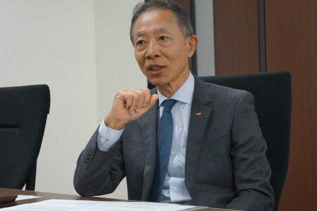 日本ウォーターシステムの梅本本部長が取材協力者