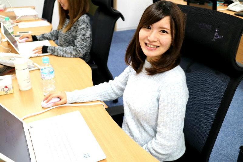 長谷川ネットメディアの女社員の画像