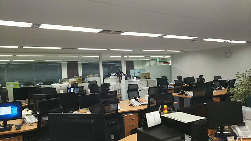 長谷川ネットメディアの社内画像