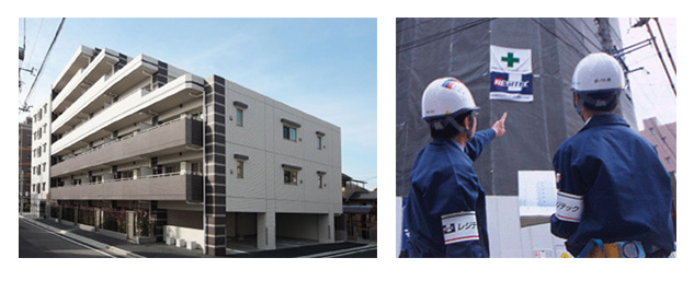 建設事業の風景