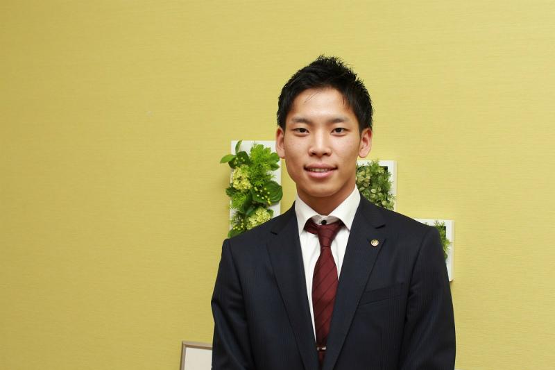 新卒社員の伊藤様