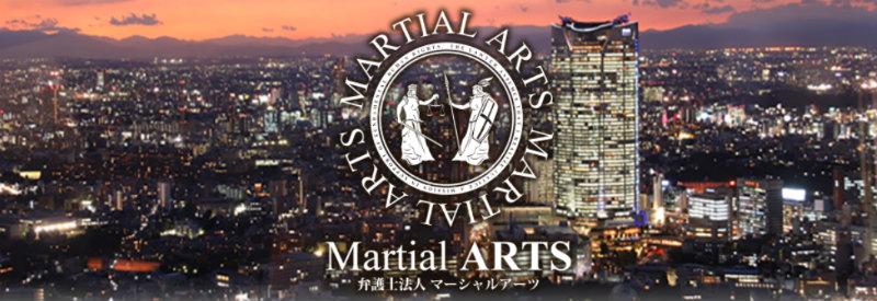マーシャルアーツのサイト画像